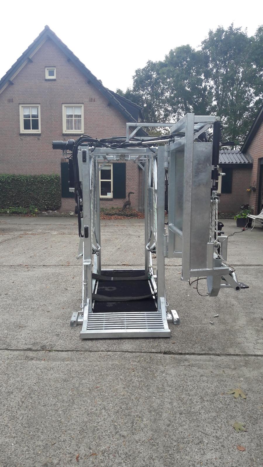 hydraulische klauwbekapbox